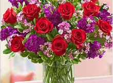 Valentine's Day Flowers and Points