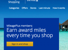 Major United Airlines Miles Earning on Very Last Minute Holiday Shopping