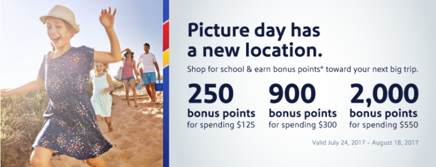 Earn Bonus Airline Miles/Points with These Back to School Shopping Promotions