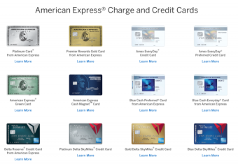 Customer Friendly Changes to American Express Cards
